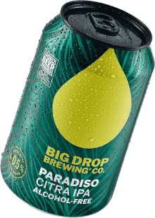 A pack image of Big Drop's Paradiso Citra IPA