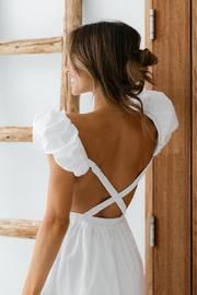 Delany Dress - White