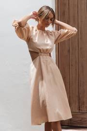 Keleena Dress - Beige