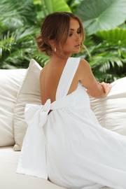 Agatha Dress - White