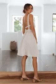 Soleil Dress - Beige