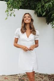 Yolette Dress - White