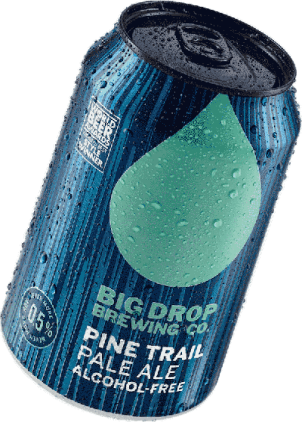 A pack image of Big Drop's Pine Trail Pale Ale