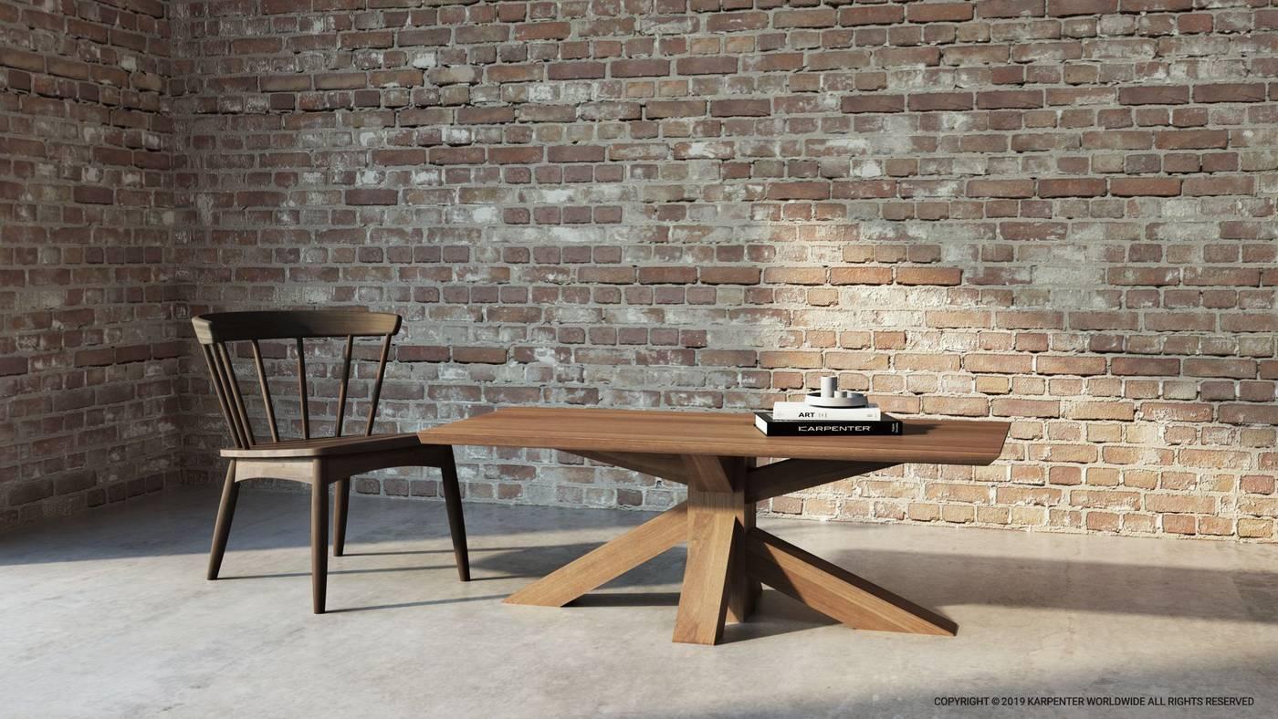 Ki Square Dining Table 80cm - European Oak