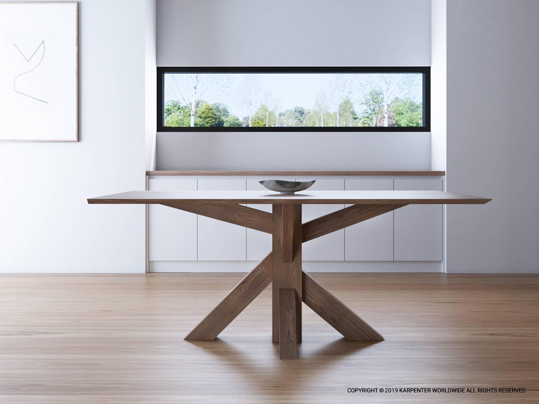 Ki Square Dining Table 80cm - FSC Recycled Teak