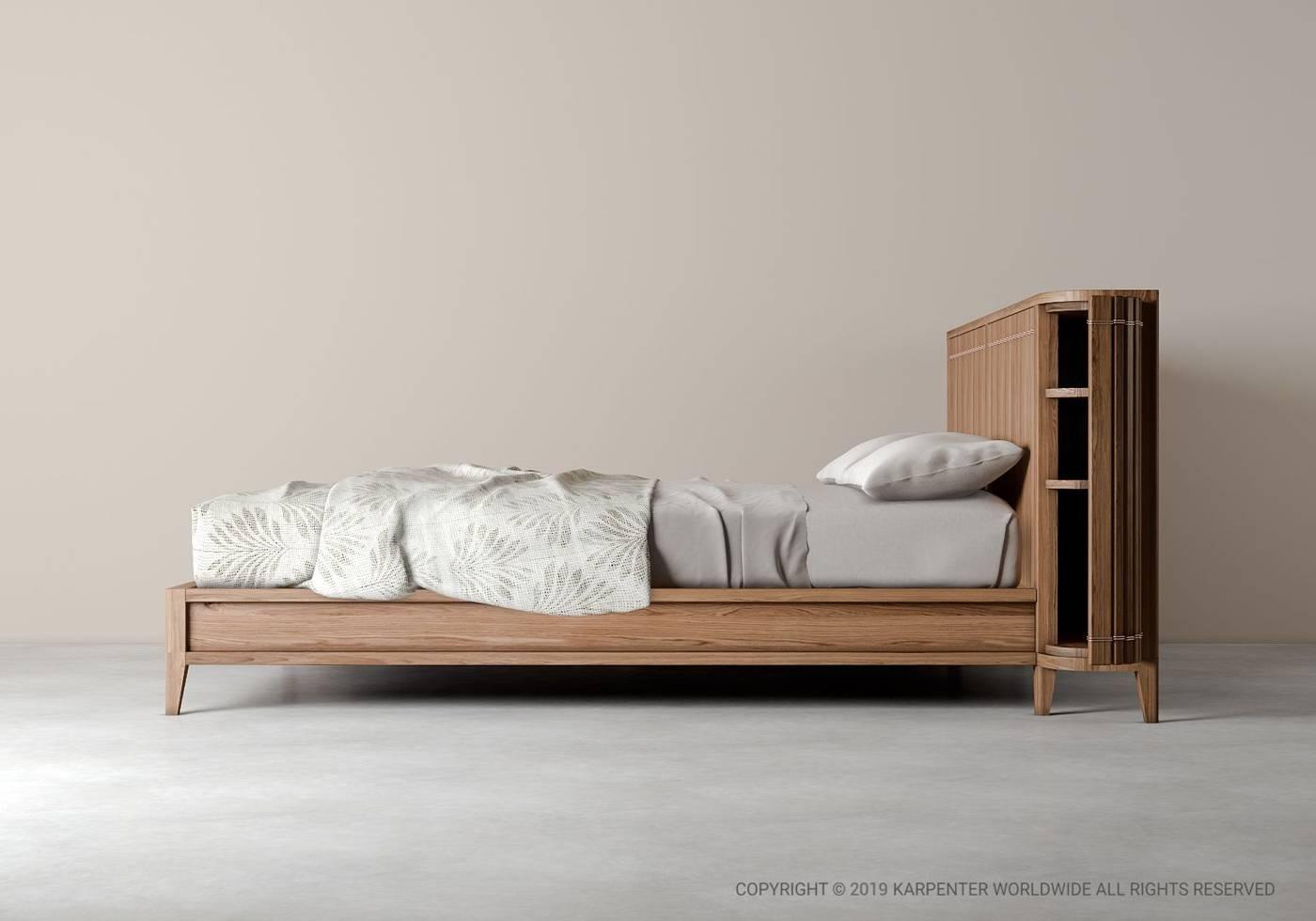 Koppar King  Bed  - European Oak