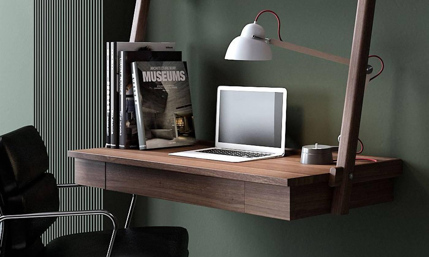 Simply City Hanging Desk - FSC RecycledTeak