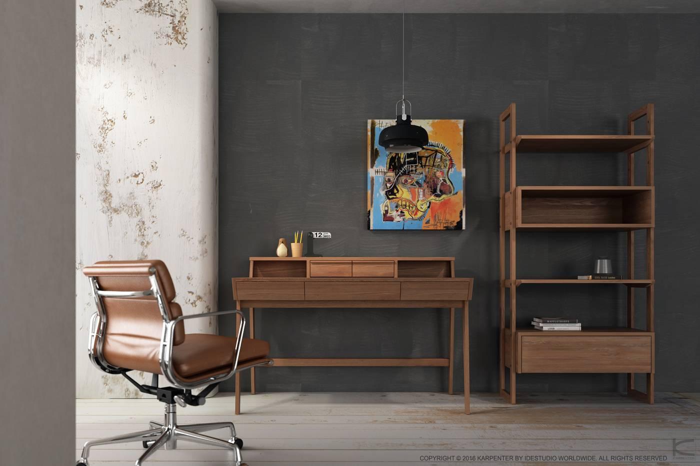 Soho Desk - European Oak