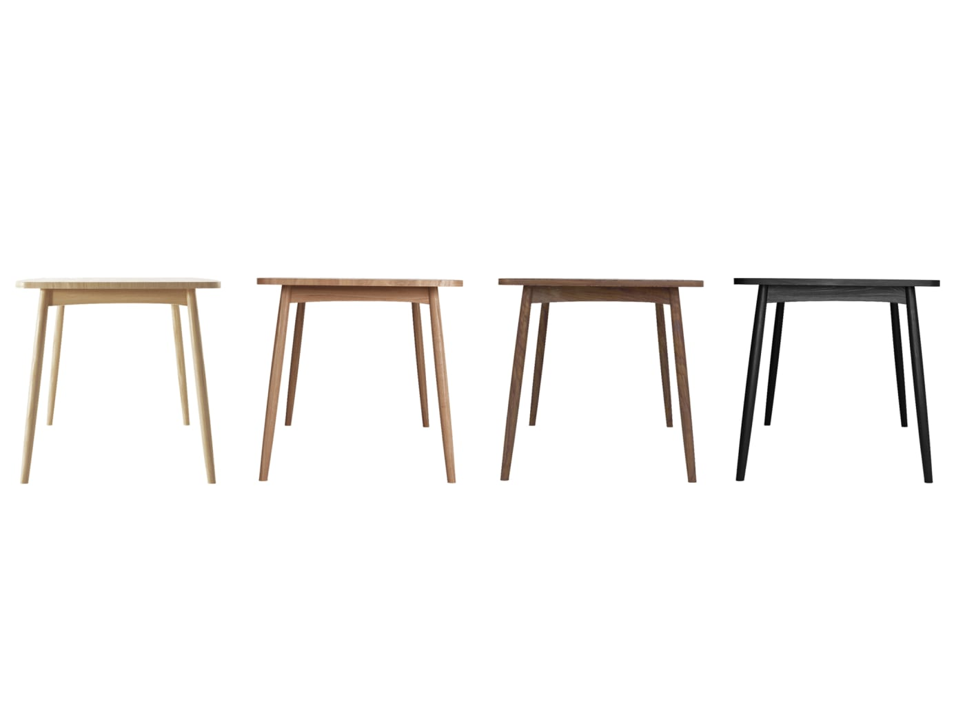 Twist Dining Table 180cm - Satin Black