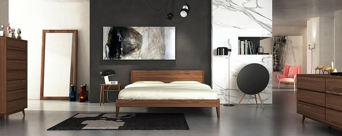 Vintage Wide Open Bedside - European Oak