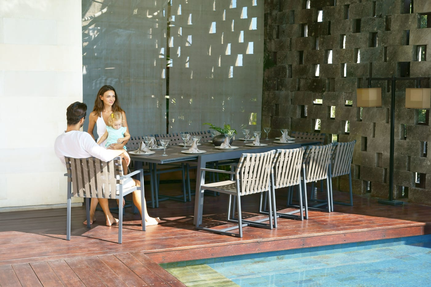 Baia Extension Dining Table 230-360 cm - HPL