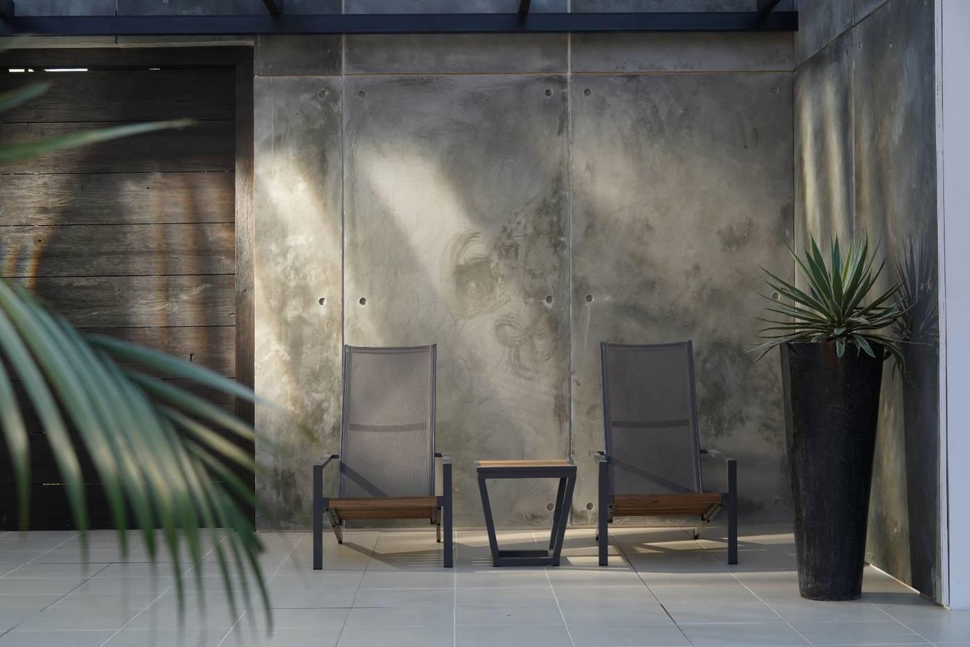 Bondi Small Square Coffee Table - HPL