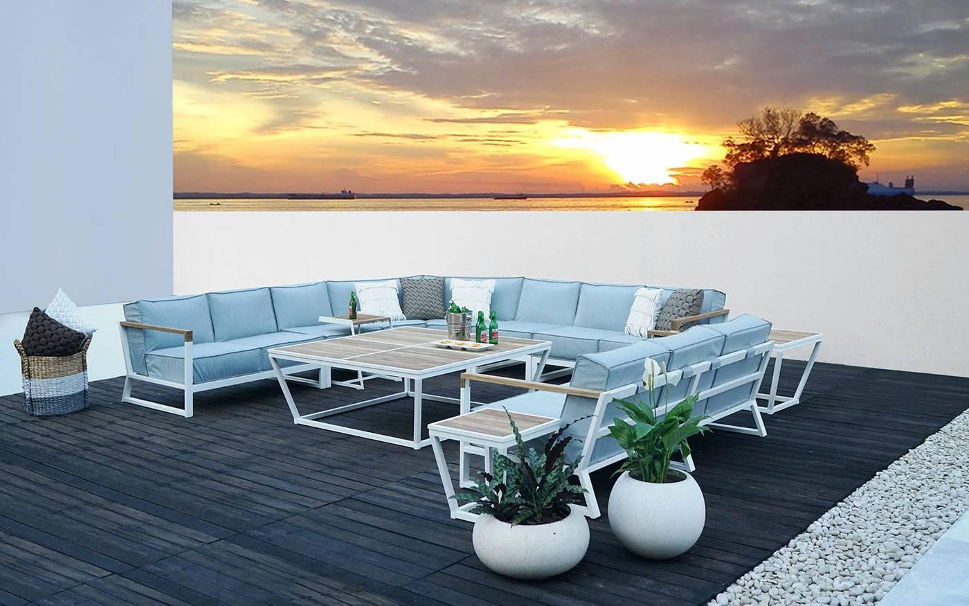 Bondi Beau Wedge Lounge Module