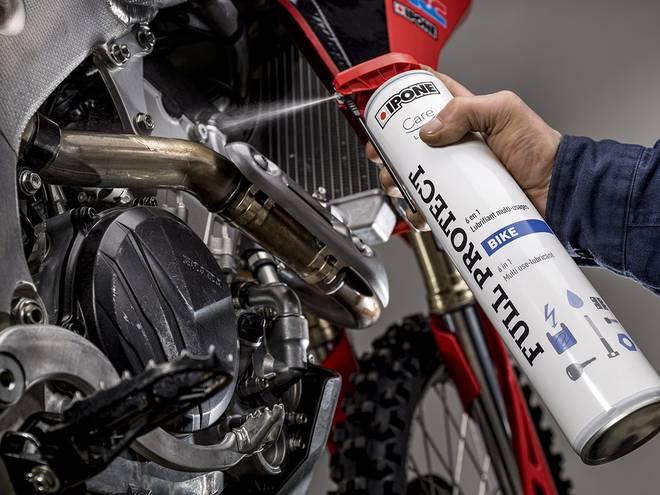 Full protect lubrifiant 6 en 1 ipone en utilisation