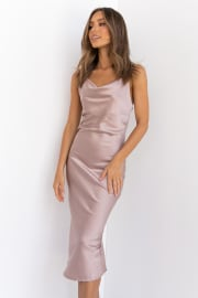 Persia Dress - Taupe