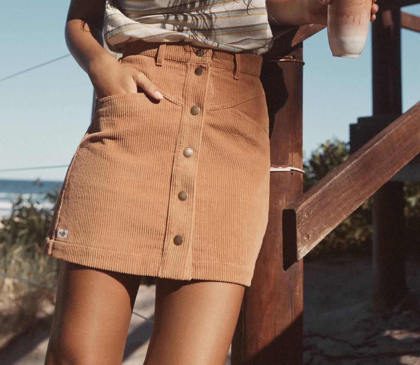 Diamond Cord Skirt