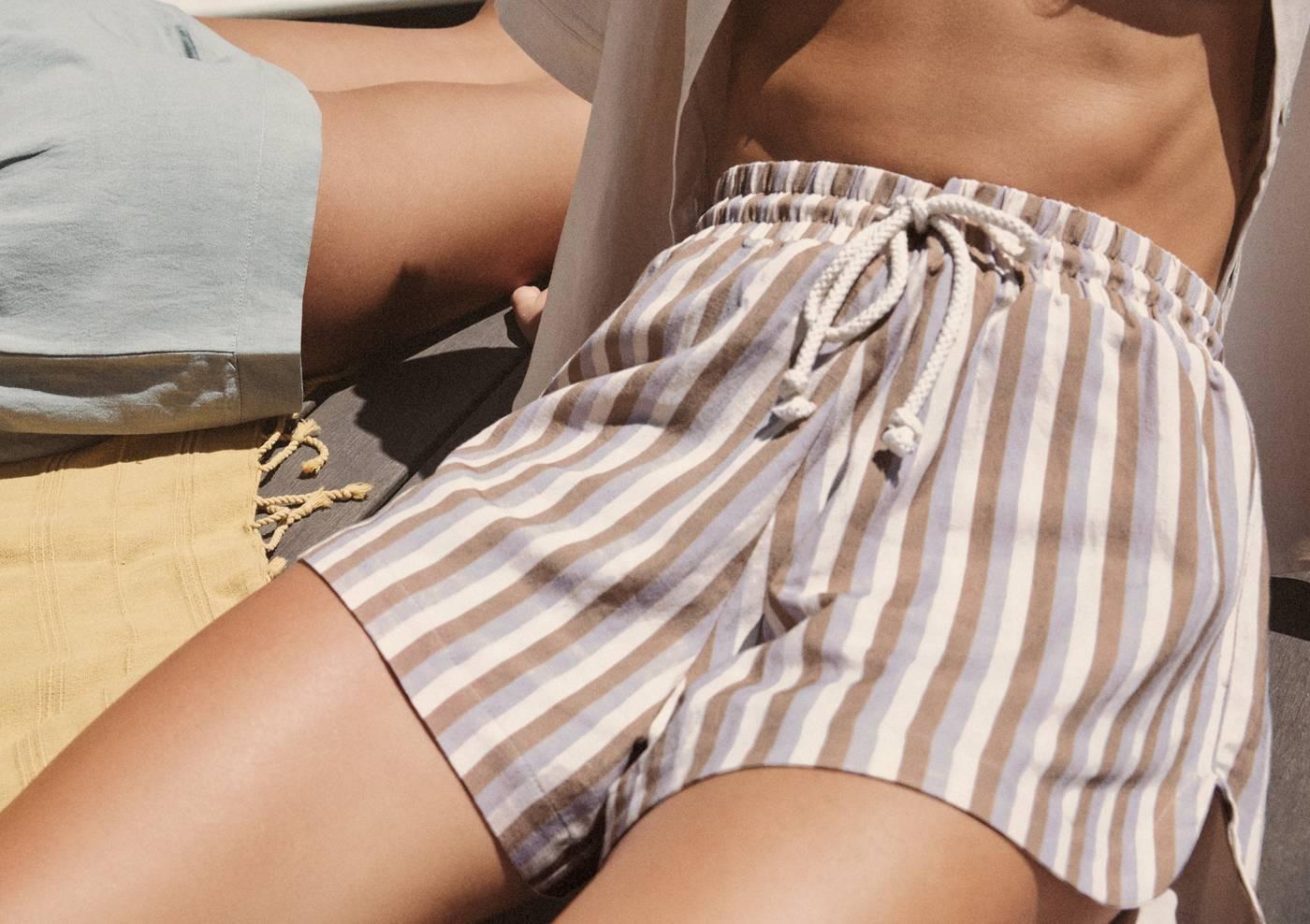 Sunray Linen Shorts