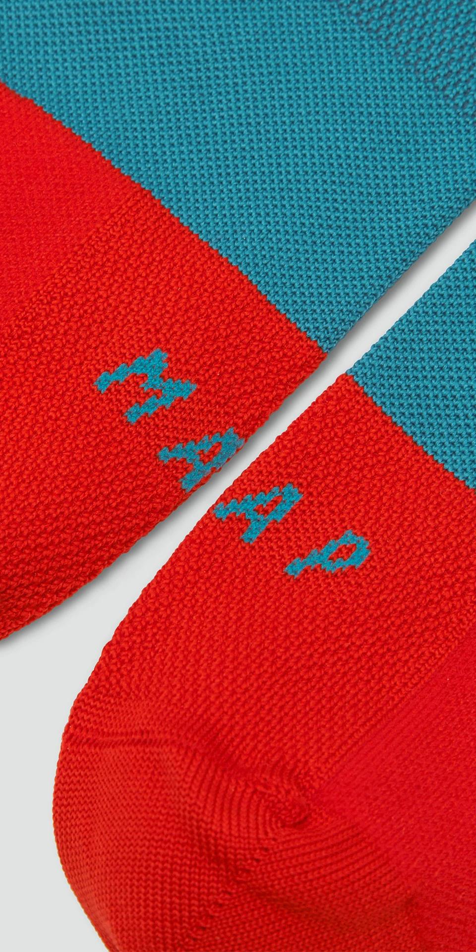 Division Sock / Cyan