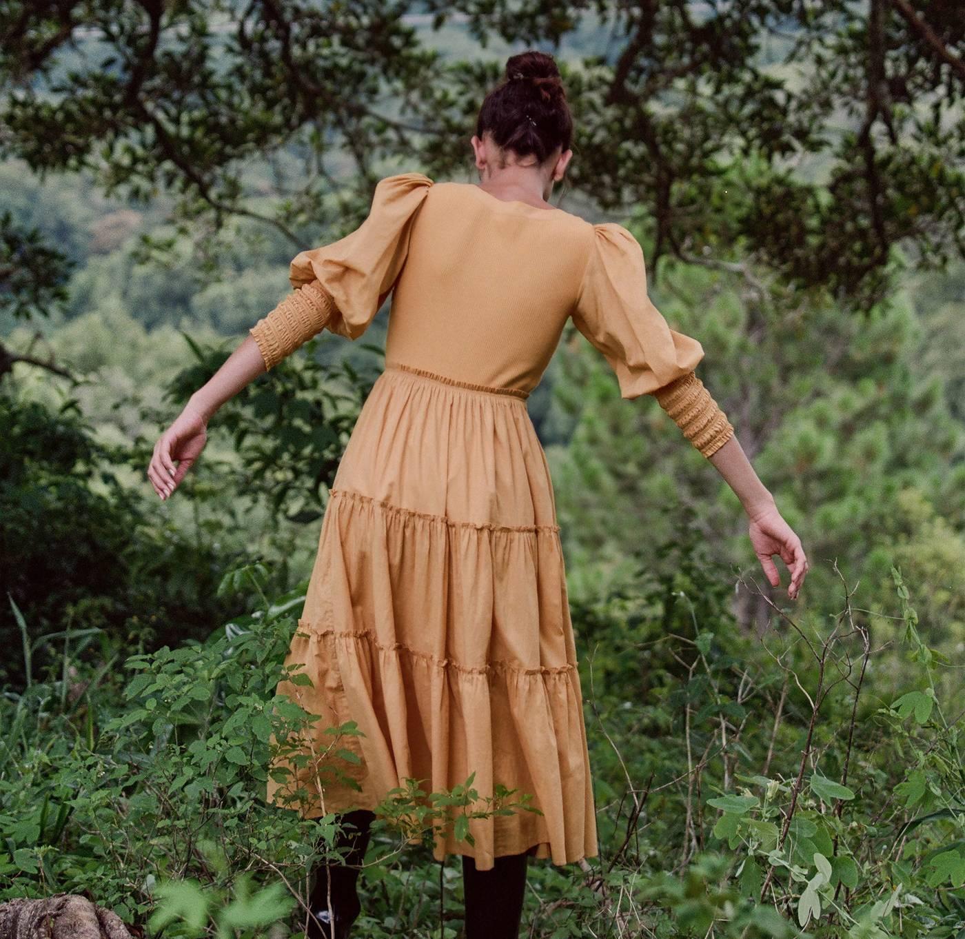 Santana Dress - Honey