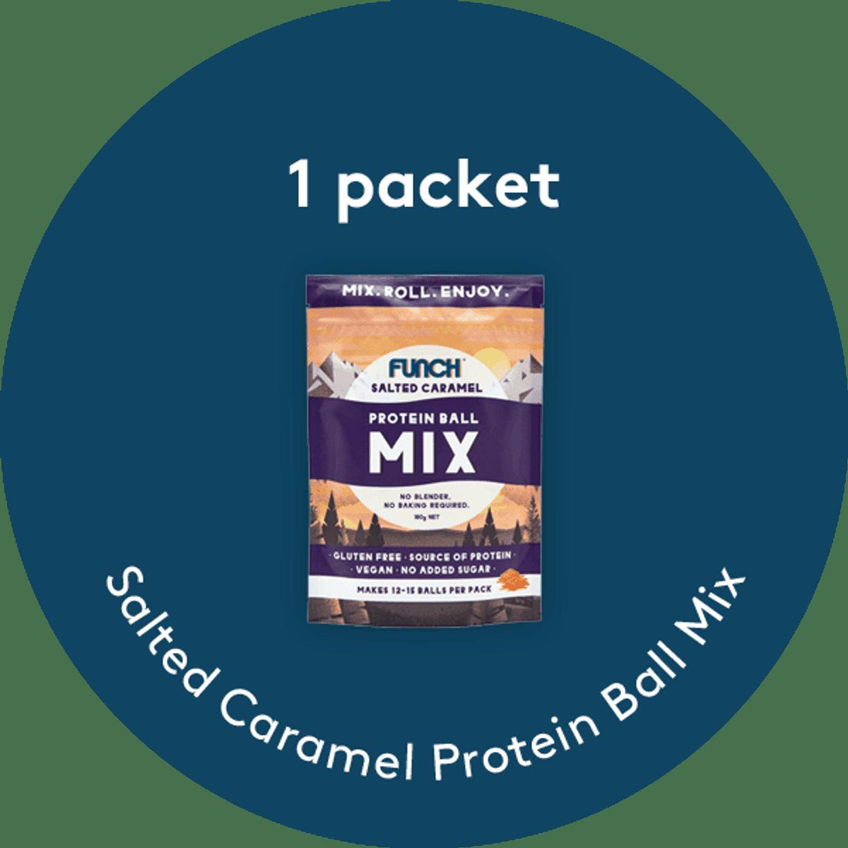 Salted Caramel Protein Ball Mix