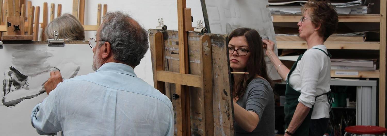 Art workshop at RWA Drawing School, Bristol