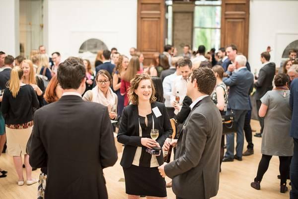 Evening drinks reception at RWA, Bristol