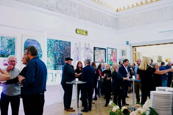Evening drinks reception at RWA in Bristol