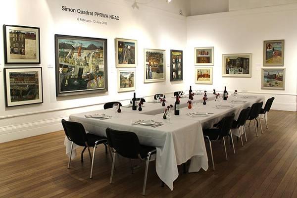 Evening meal reception at Bristol's RWA