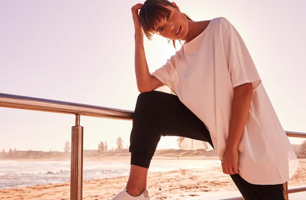 Deluxe Relaxed Tee - White