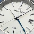 Macro of champagne dial of SBGN011.