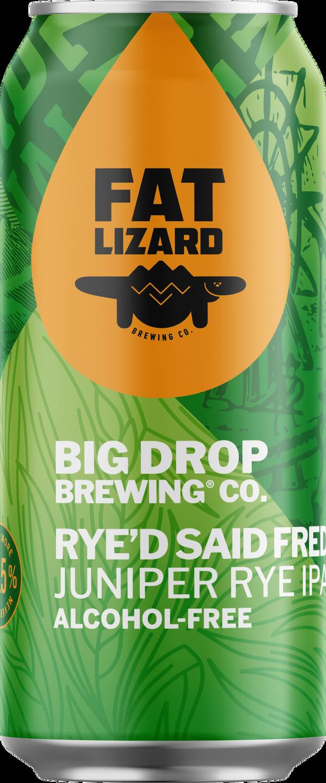 A pack image of Big Drop's Rye'd Said Fred Juniper Rye IPA