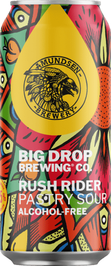 A pack image of Big Drop's Rush Rider Pastry Sour