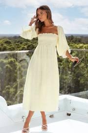 Gabriella Dress - Yellow