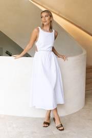 Esther Dress - White