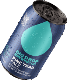 A pack image of Big Drop's Pine Trail Pale
