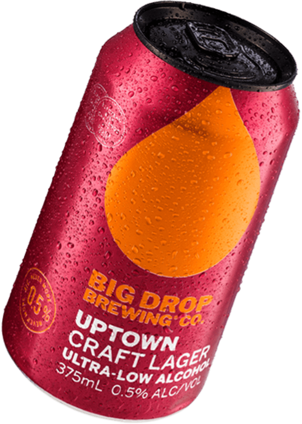 A pack image of Big Drop's Uptown Craft Lager