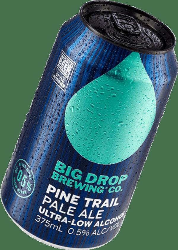 A pack image of Big Drop's Pine Trail Pale Ale