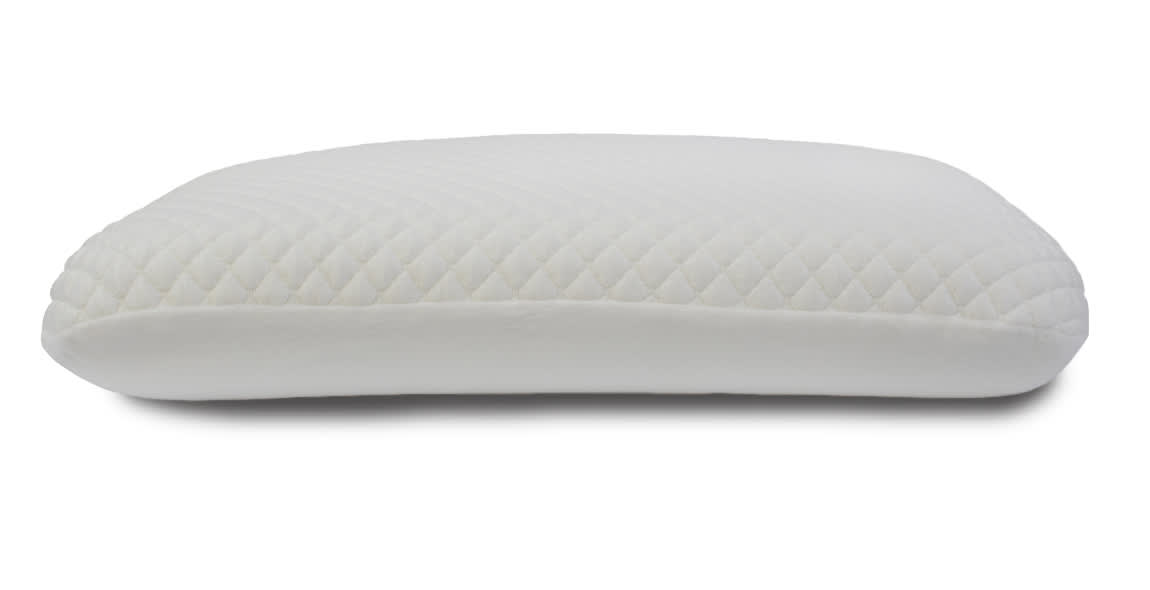 Memory foam high pillow for side sleepers
