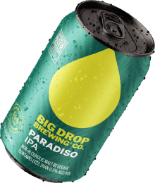 A pack image of Big Drop's Paradiso IPA