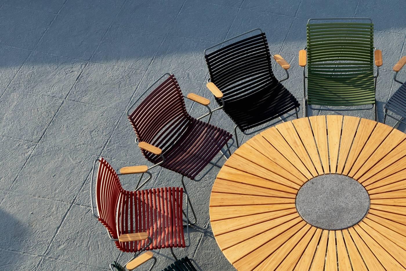 Click Dining Chair - Dark Grey