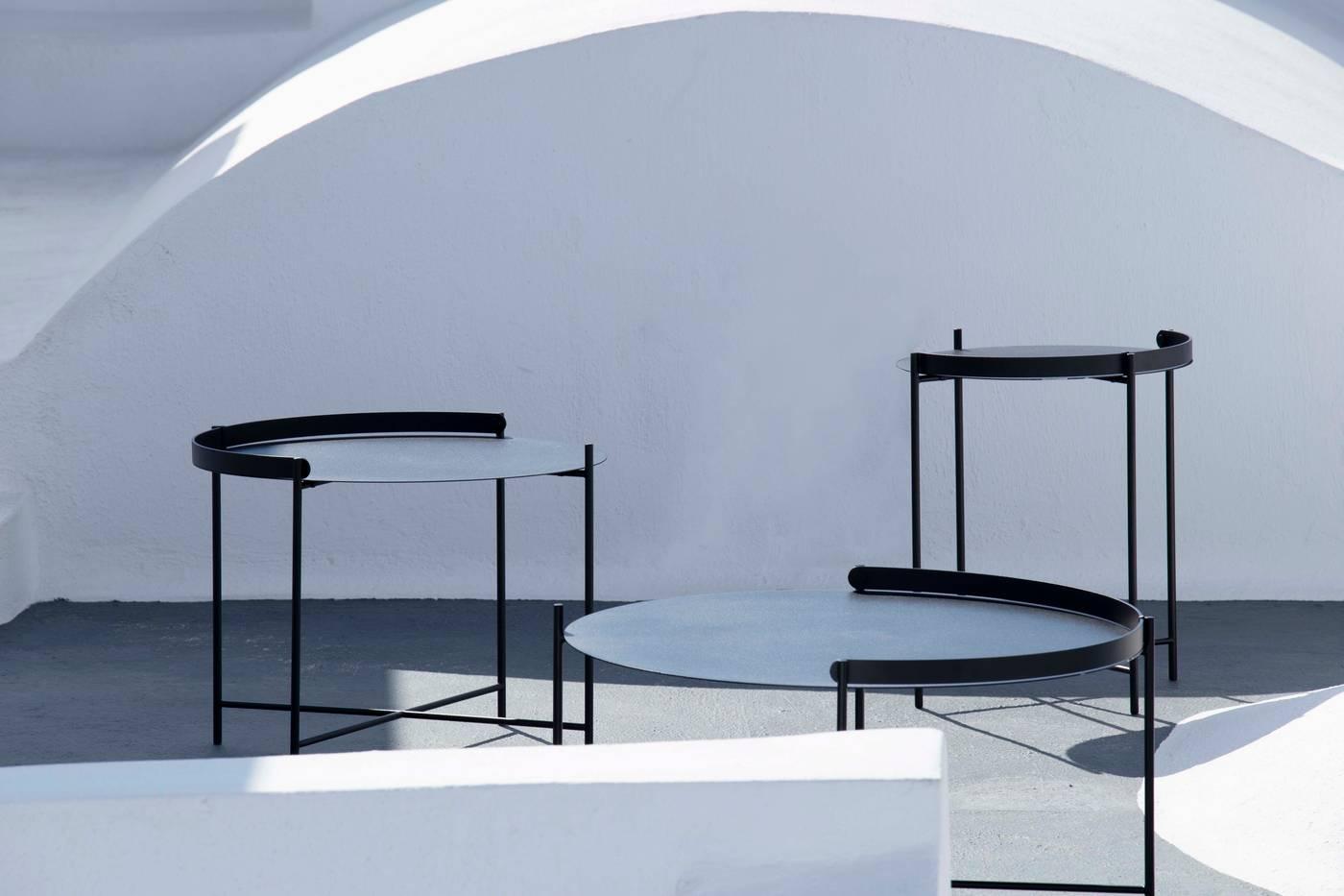 Edge Tray Table - Black Medium