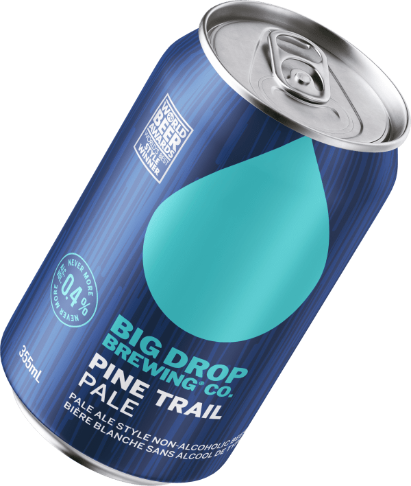 A pack image of Big Drop's Pine Trail Pale Blanche