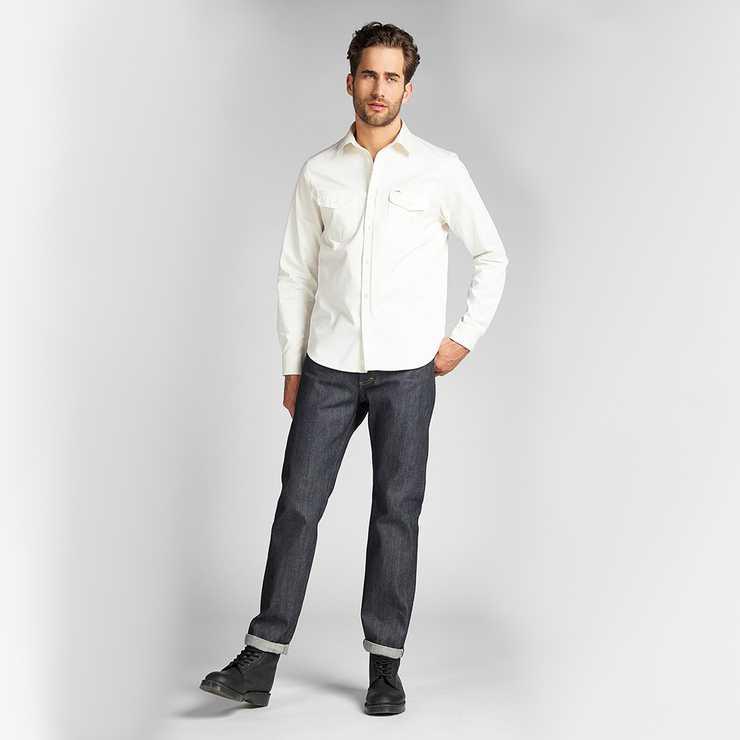 Mens Regular Straight Jeans