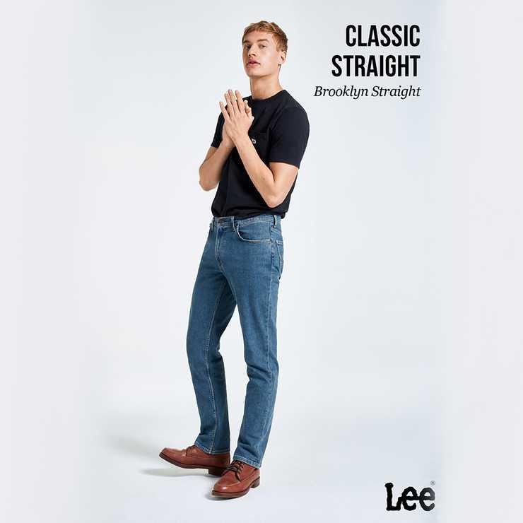 Lee Brooklyn Straight Jeans