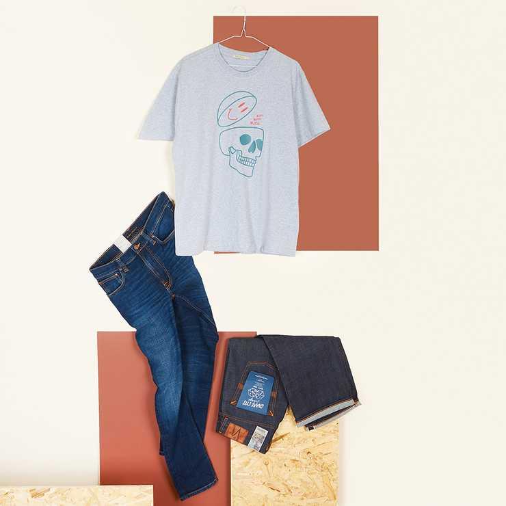 Nudie Sleepy Sixten Jeans