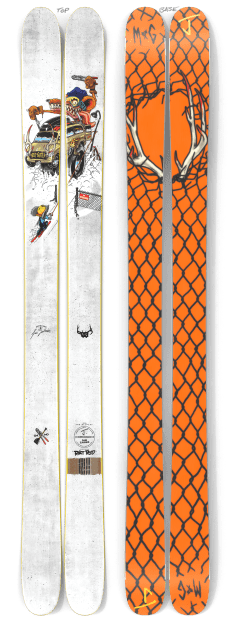 "The Allplay ""RAT ROD"" Sam Zahner x J Collab Limited Edition Ski"