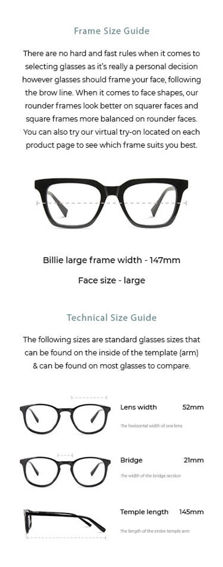 Billie / Large - Smokey Grey