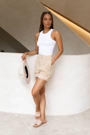Indy Shorts - Beige