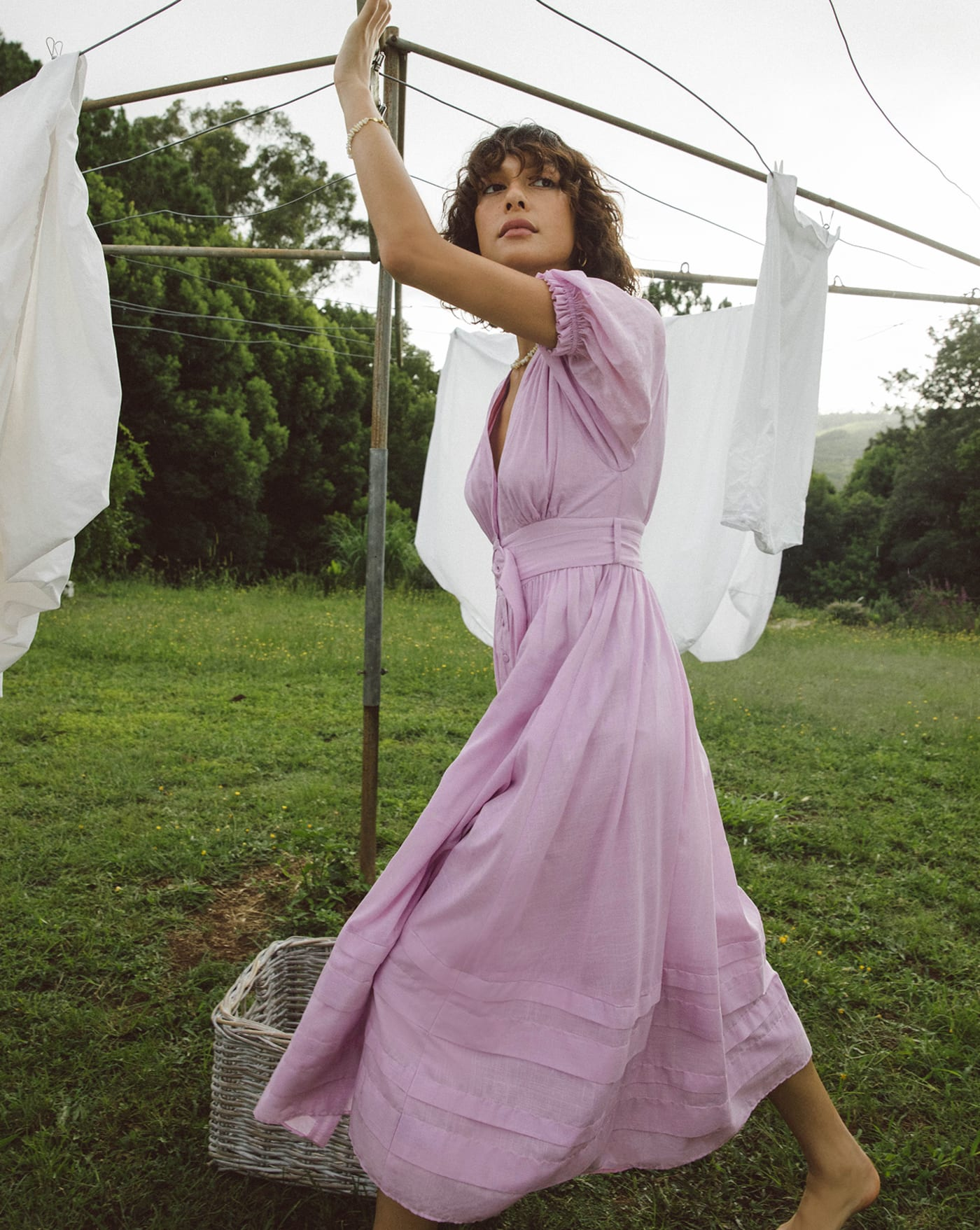 Carmen Dress - Thistle