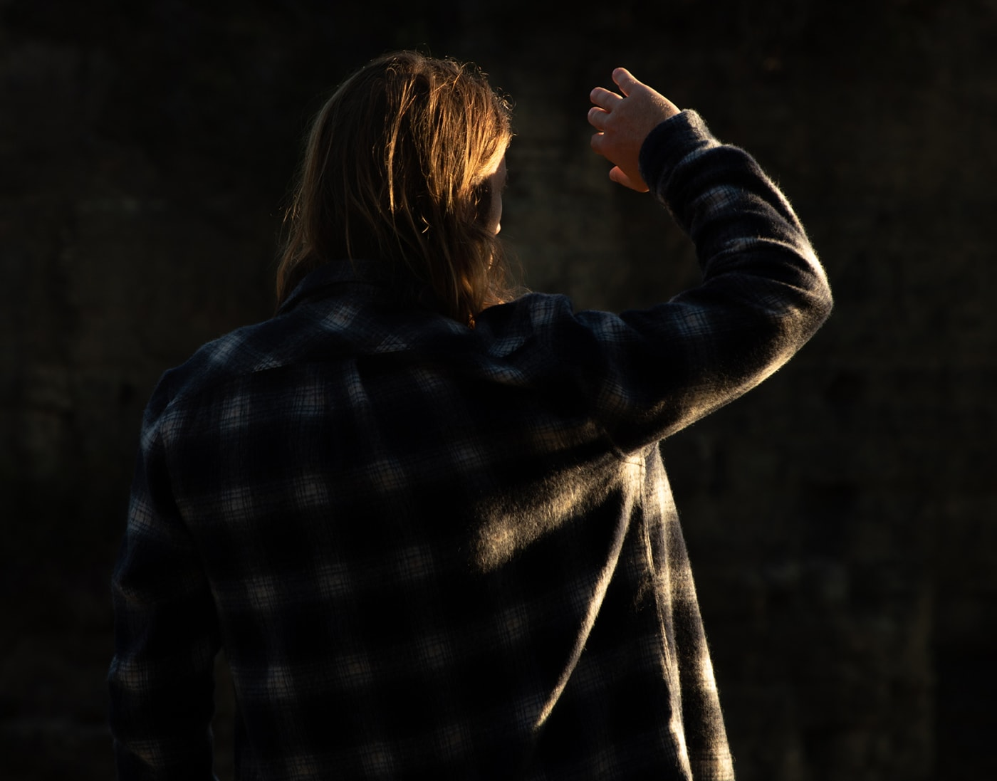 Wool Flannel Over Shirt